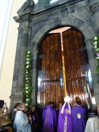 Apertura catedral